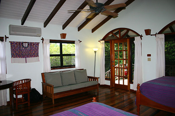Interior of the Treetop Rooms