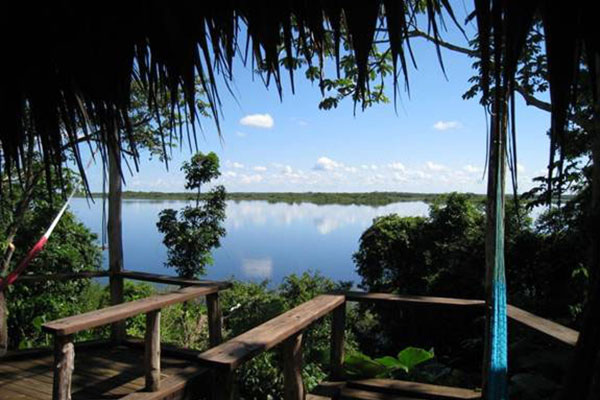 View of Lagoon from Cabana